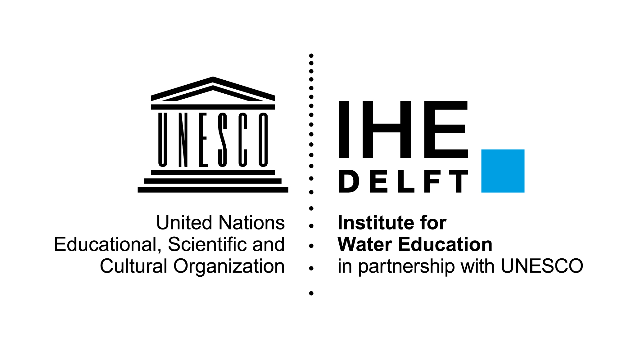 IHE-Delft_LOGO_BLACK_CYAN_full_version